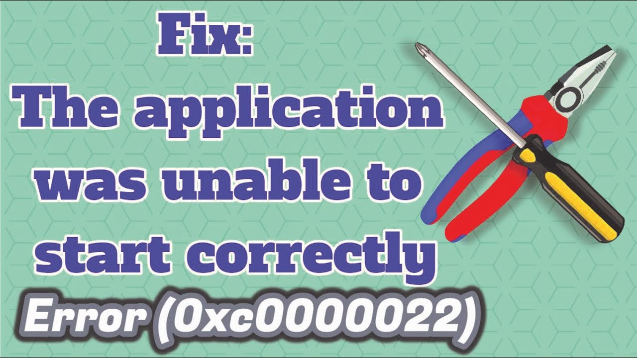 gta v the application was unable to start correctly 0xc0000022