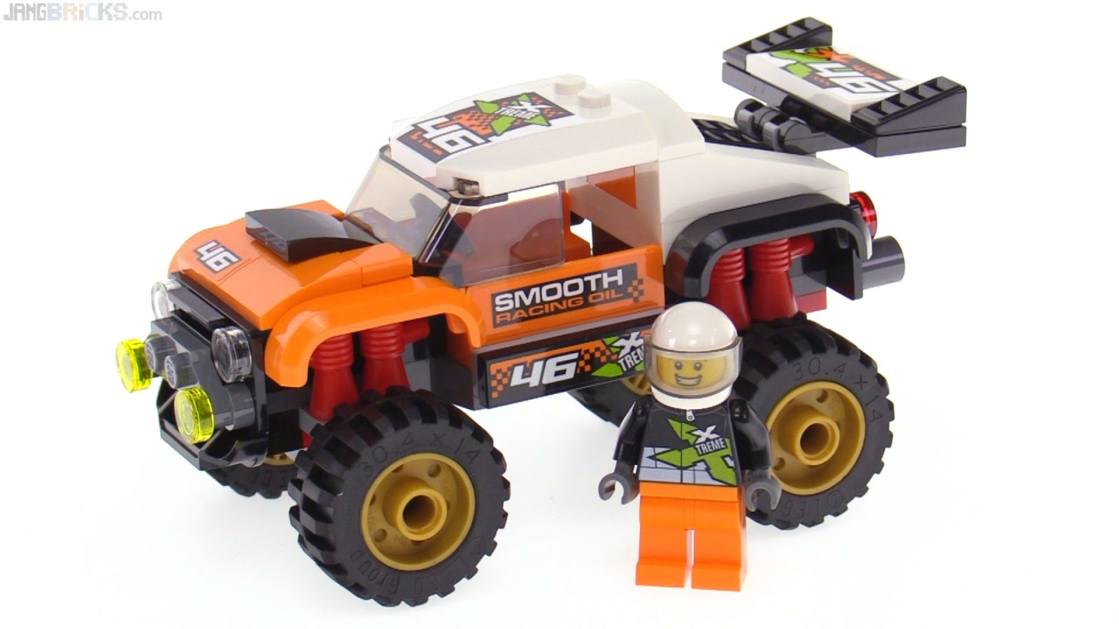 lego stunt truck instructions
