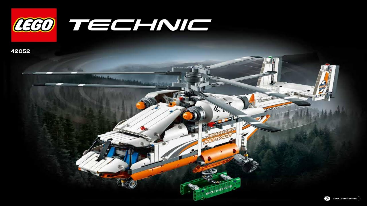 lego technic heavy lift haleicopter instructions