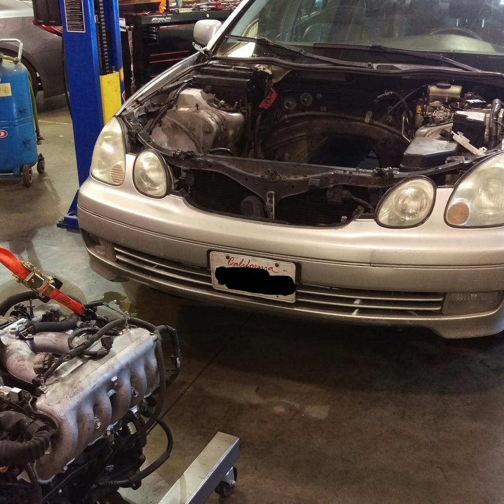 gs300 manual conversion