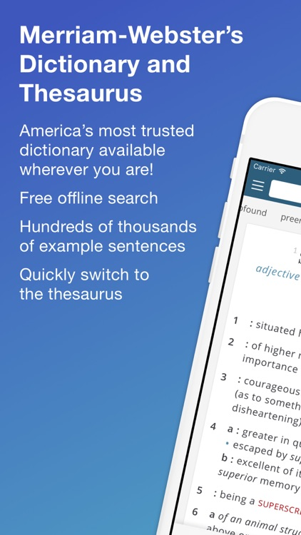 how to create a dictionary app for iphone