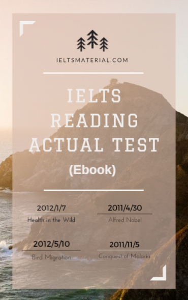 ielts reading material for academic pdf