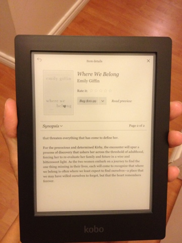 kobo ereader instructions