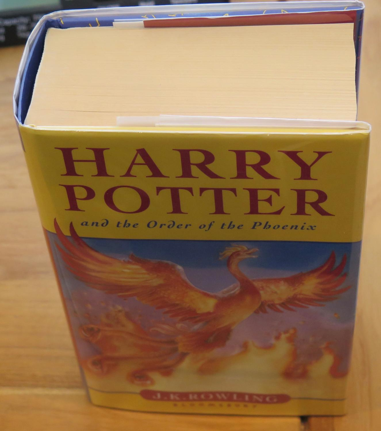 harry potter and the order of the phoenix pdf bloomsbury
