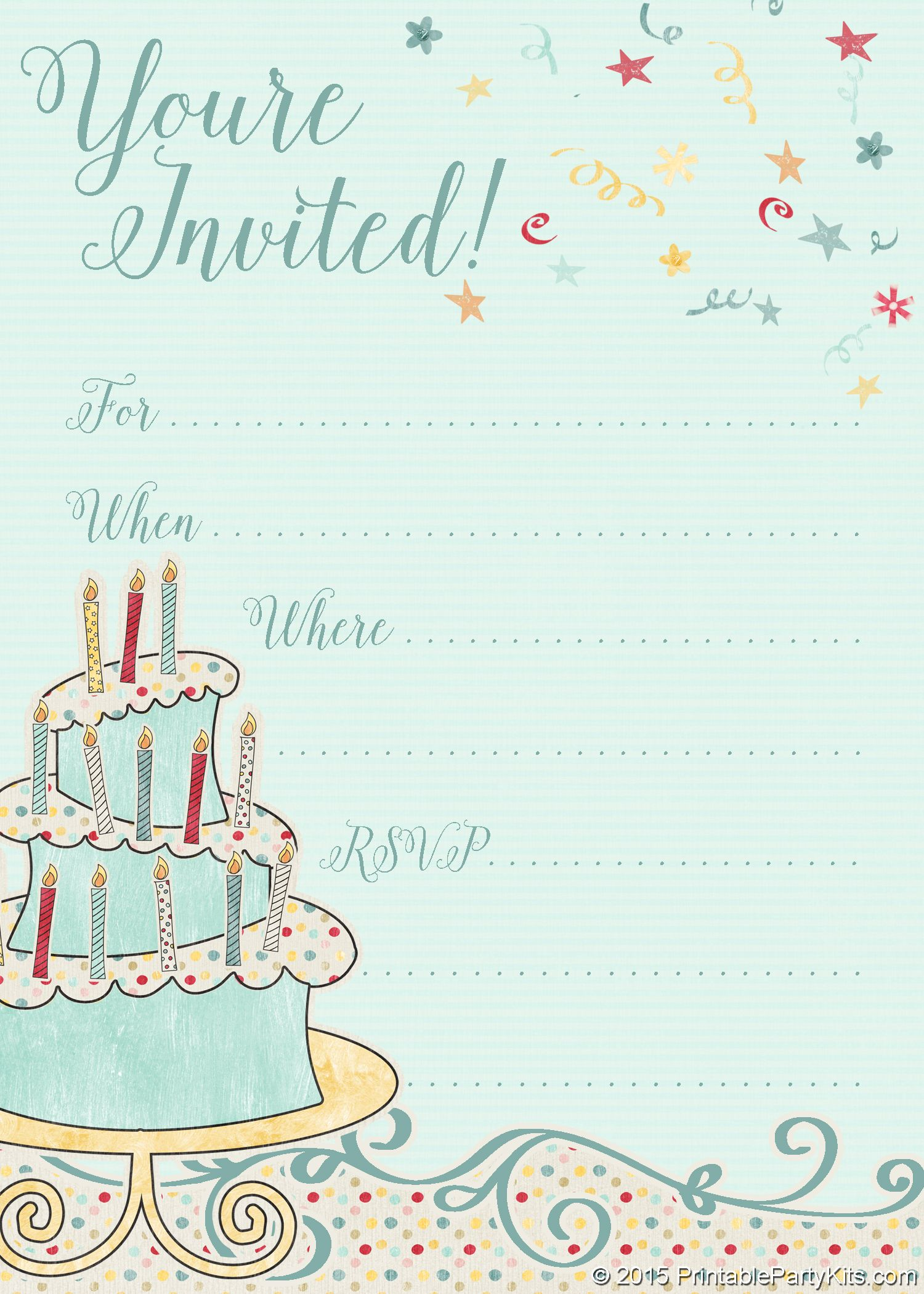 facebook birthday invitation sample