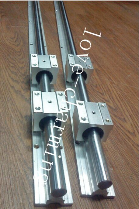 fully supported linear guide rails