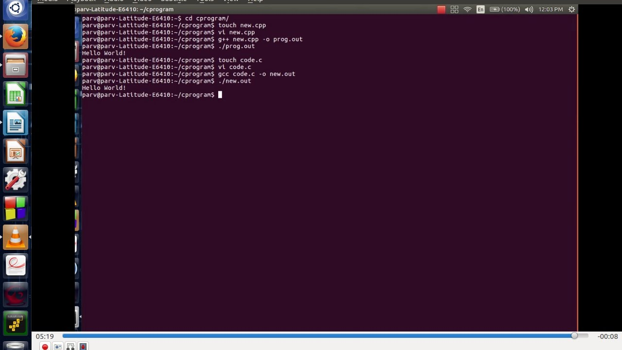 how do i find an application on terminal