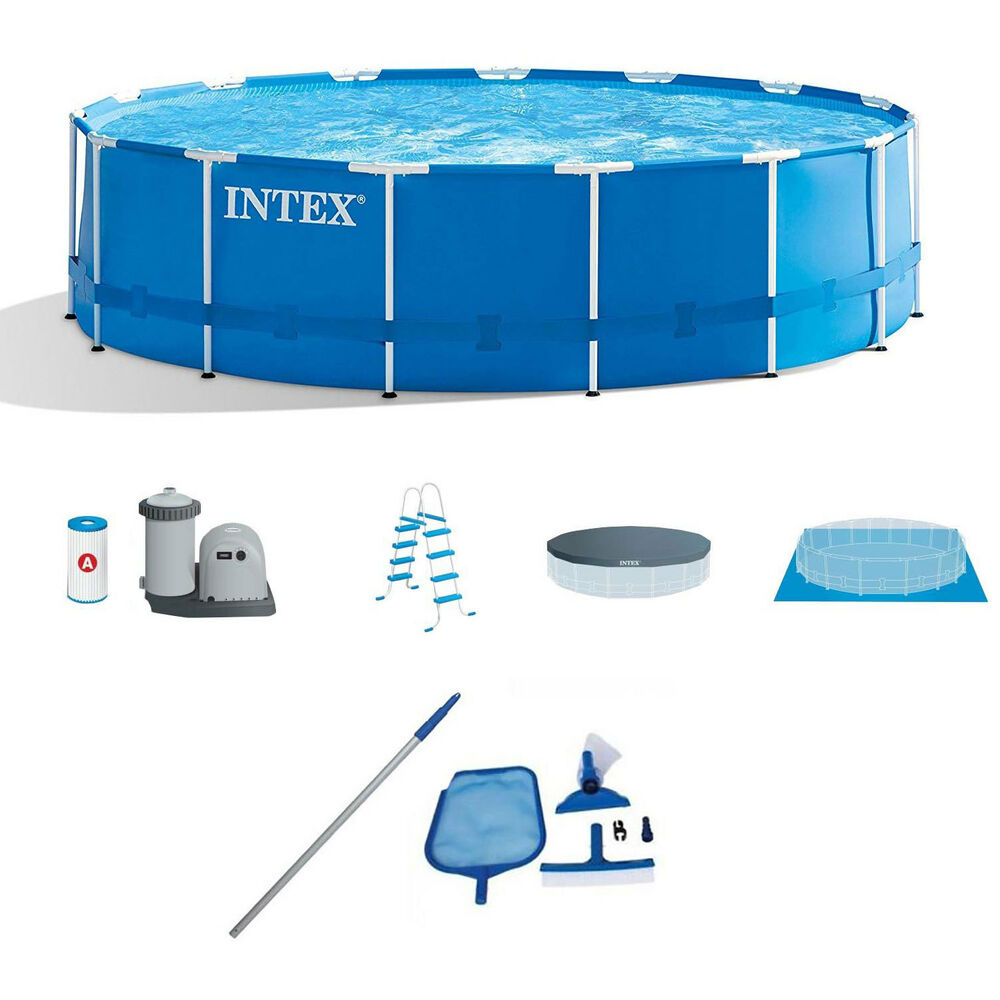 intex above ground pool vacuum instructions