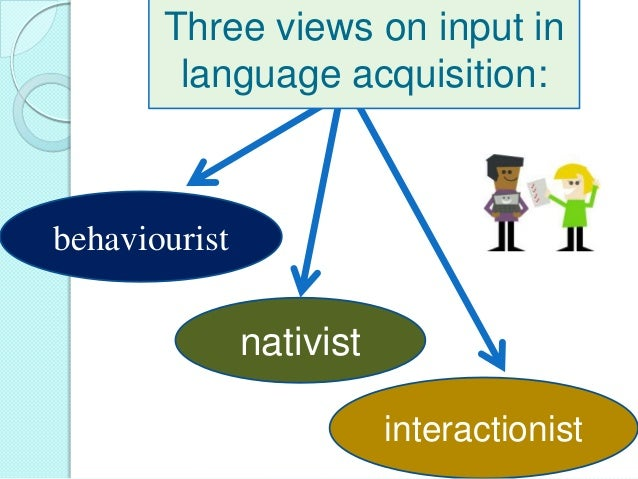 input in second language acquisition pdf