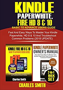 kindle paperwhite user guide 2018