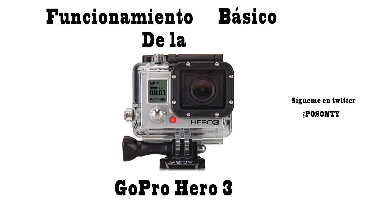 gopro hero3 white edition manual