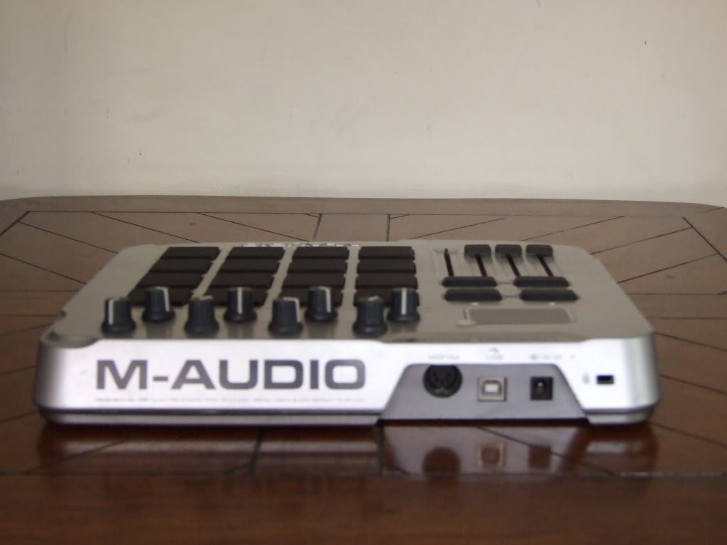 m-audio trigger finger manual midi controller