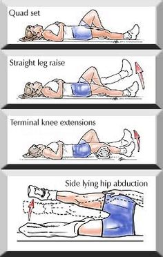hip replacement exercises pdf