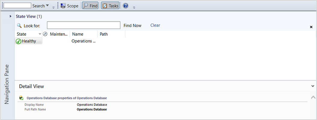 how to view distributed application in operations manager 2012