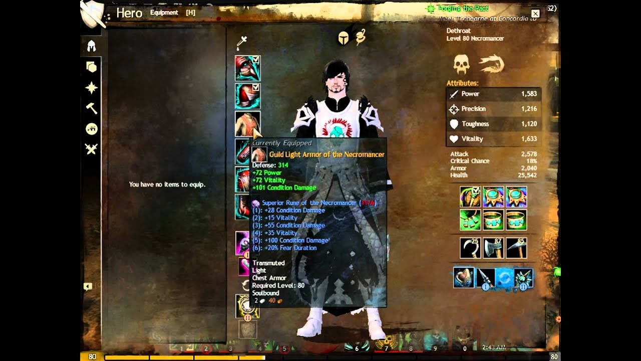 guild wars 2 necromancer leveling guide