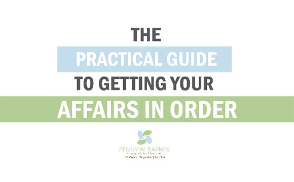 getting your affairs in order pdf