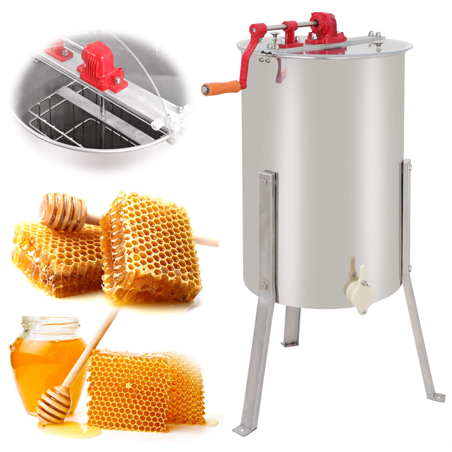 manual honey extracting machine kiwimana