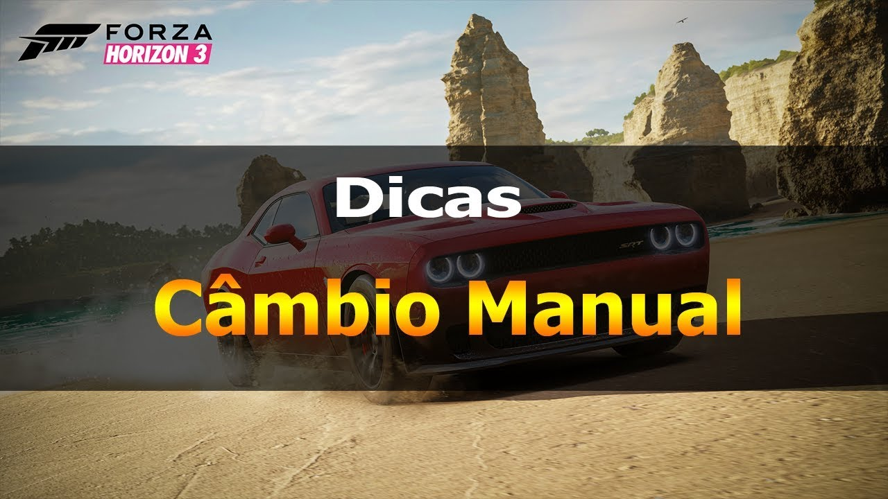 forza horizon 3 manual