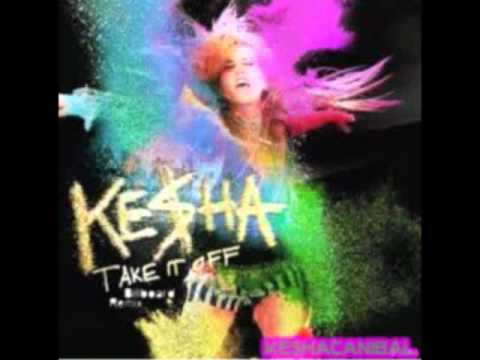 kesha take it off sample