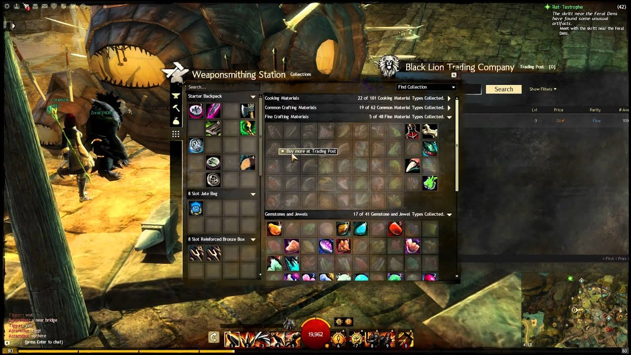 gw2 weaponsmith guide 400-500