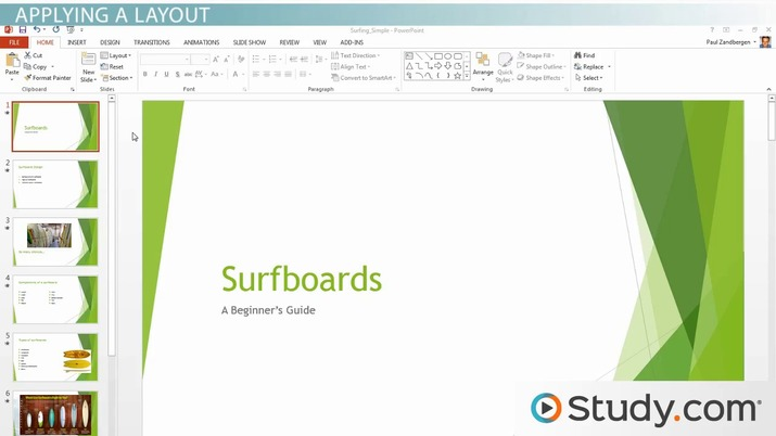 how to make a study guide powerpoint