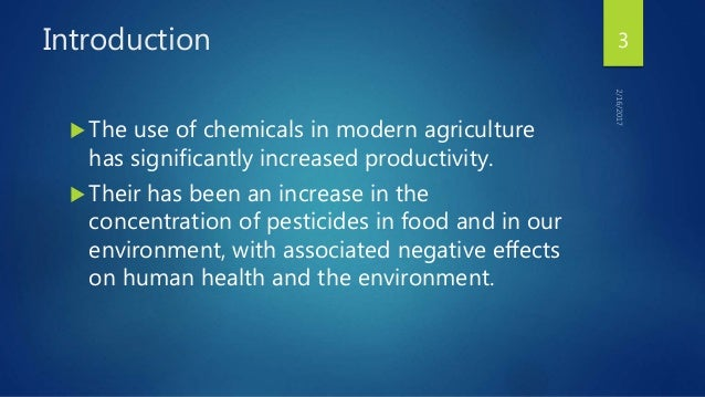 effects of pesticides on the environment and human health pdf