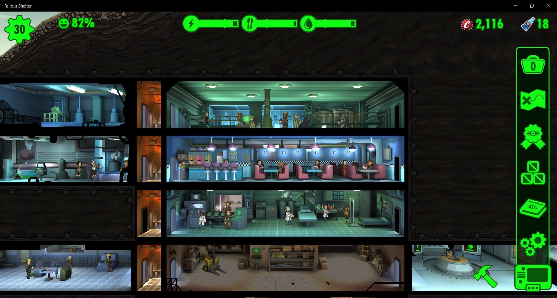 fallout shelter guide