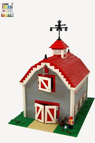 lego barn instructions