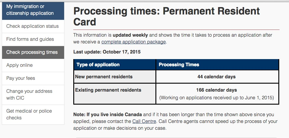 how long does residency application take