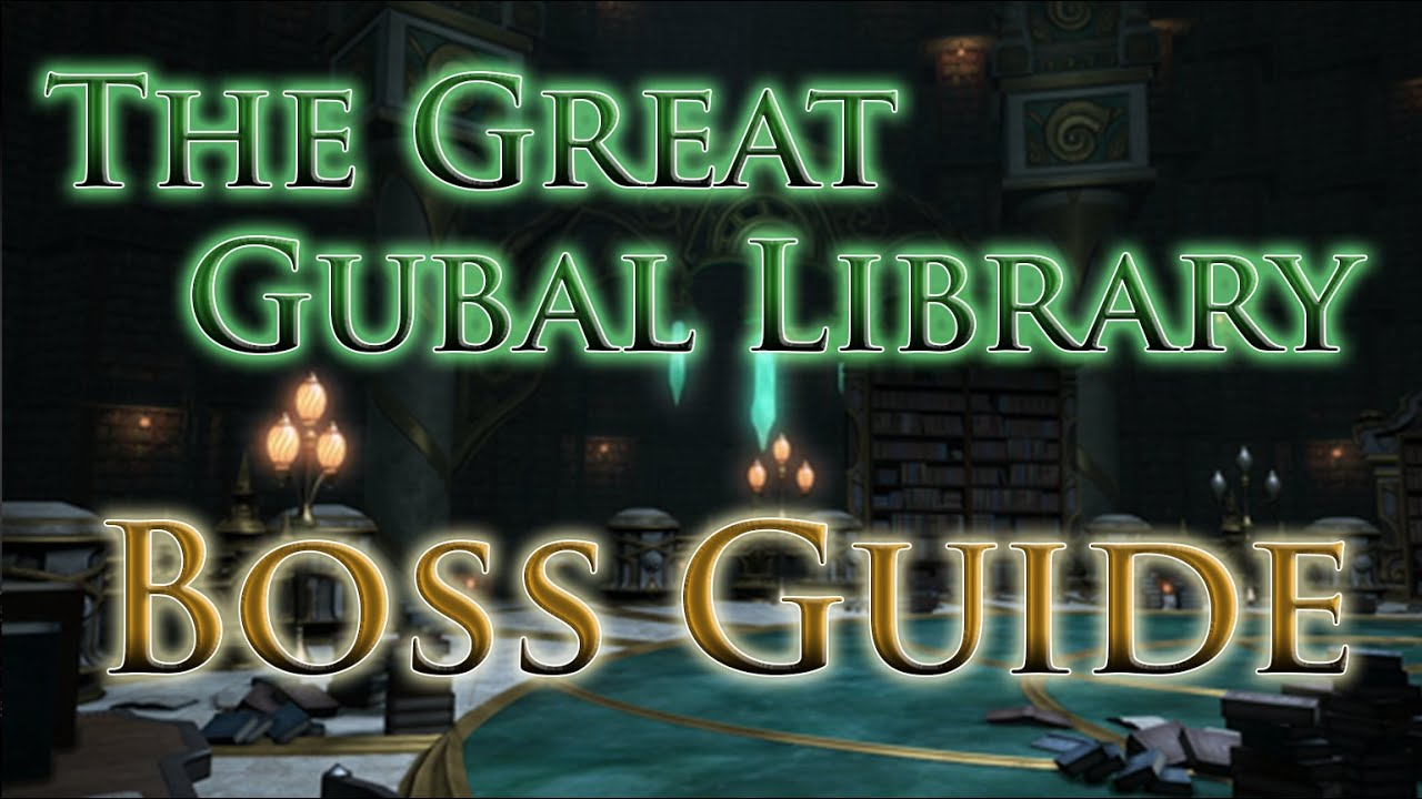 ffxiv the great gubal library guide