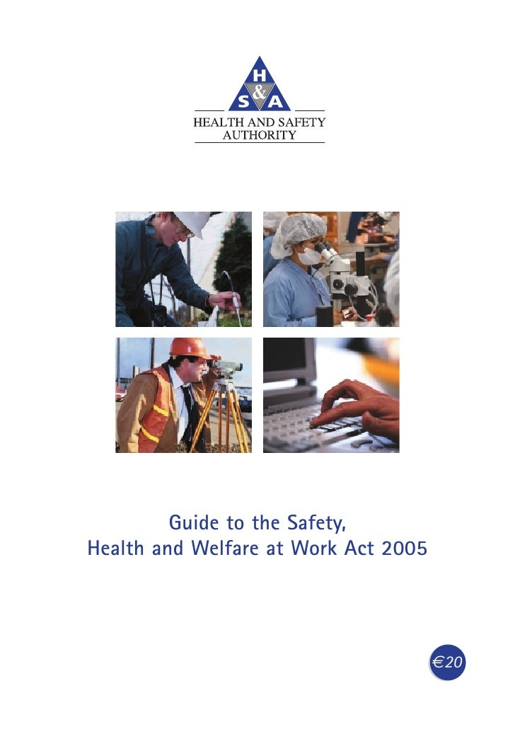 guide to health and safety at work act