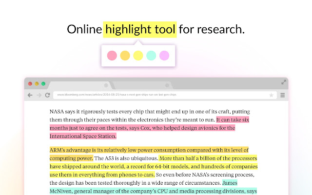 highlight pdf in chrome