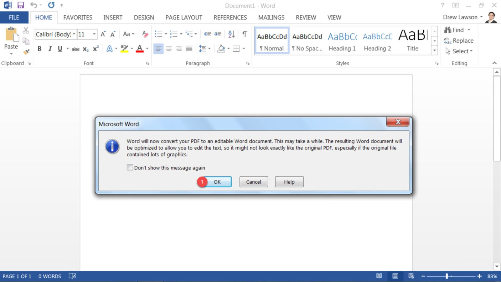 how to edit a pdf on microsoft word