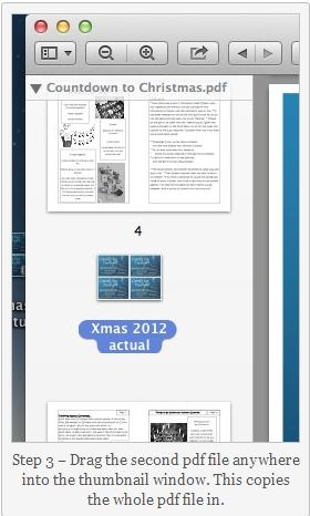 how to join 2 pdf files on mac