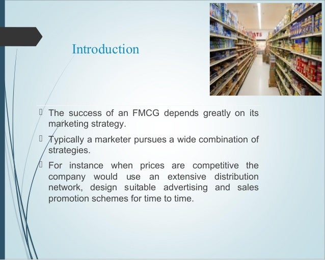 introduction to fmcg industry pdf