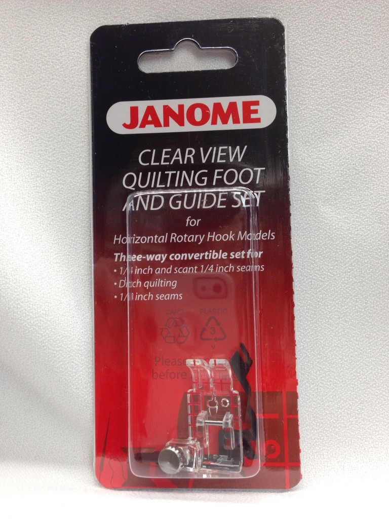 janome quilting guide bar