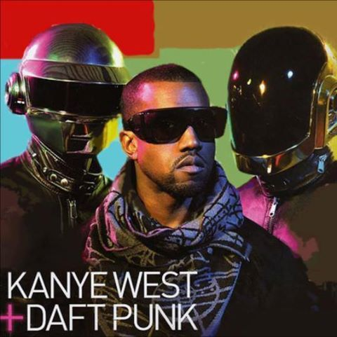 kanye west stronger sample daft punk
