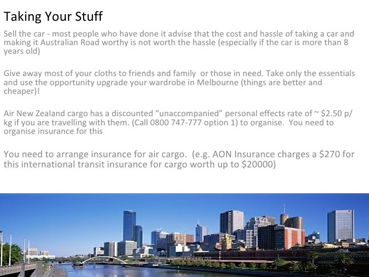 kiwis guide to moving to melbourne