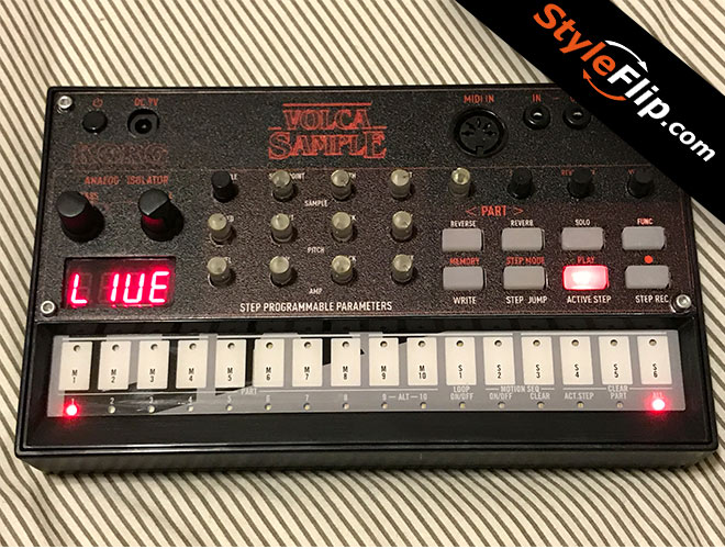 korg volca sample size limit