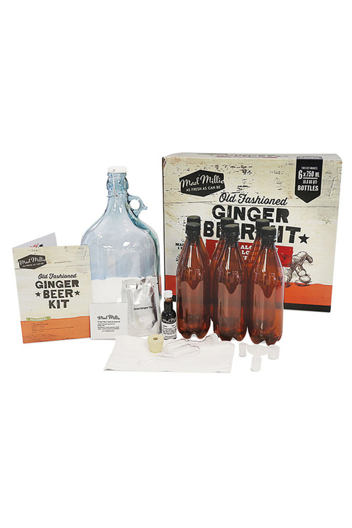mad millie ginger beer instructions