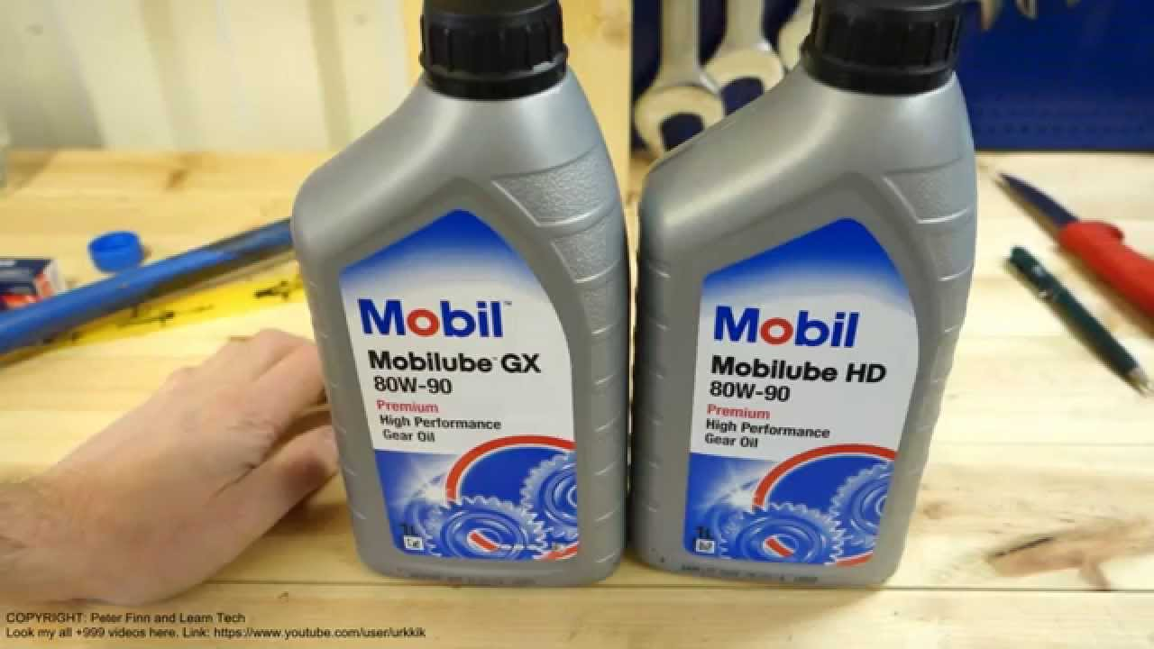 manual gearbox oil